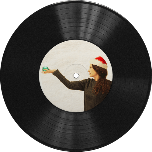 picture of a vinyl record